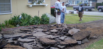 concrete removal in temecula